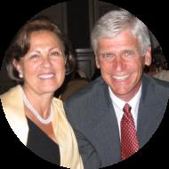 Mark Hofert and wife